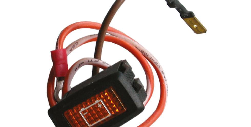 Light, Battery Warning 48 V.