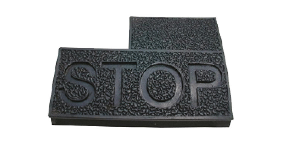 Brake Pedal Pad (STOP)