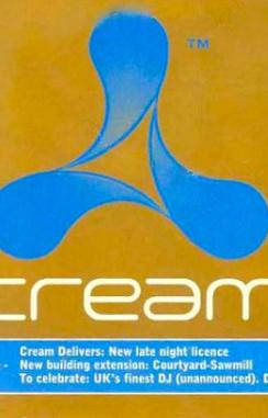 Cream Liverpool 1996