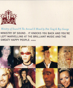 Booklet pages from The Ministry of Sound Annual II
