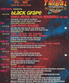 Trtibal Gathering 1996