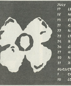 Heavenly Recordings Tour 1990
