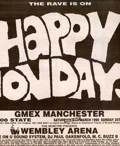 Happy Mondays at GMEX, Manchester