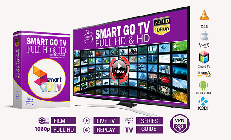 Smart Go TV - Full HD-HD