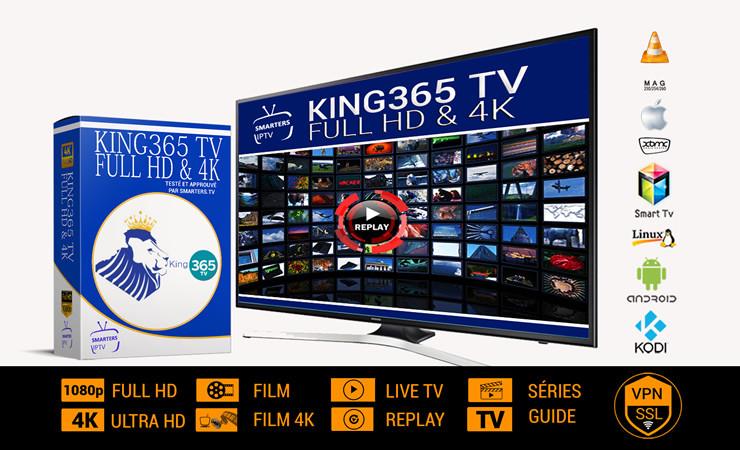 KING-Platinium Full HD-4K