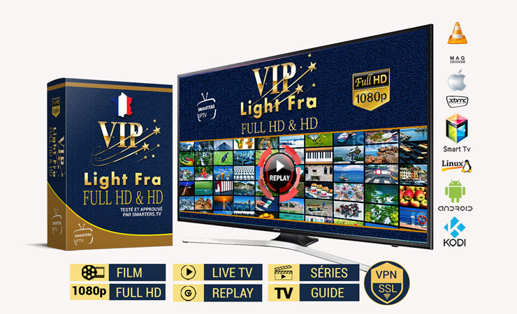 VIP Light Fra - FuHD & HD