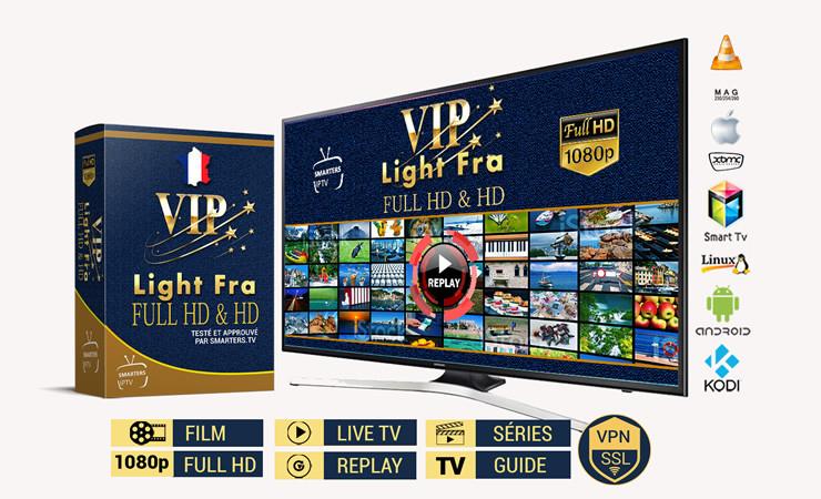 VIP Light Fra - FuHD & HD