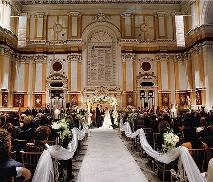 Memorial Hall - South Foyer Wedding Ceremony