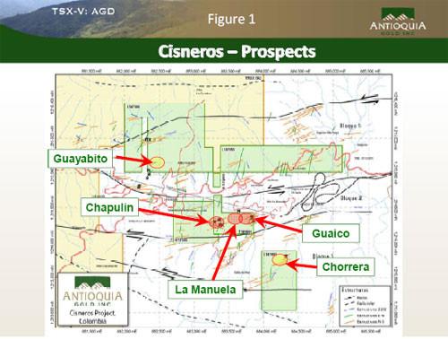 Antioquia Gold Provides Exploration Update