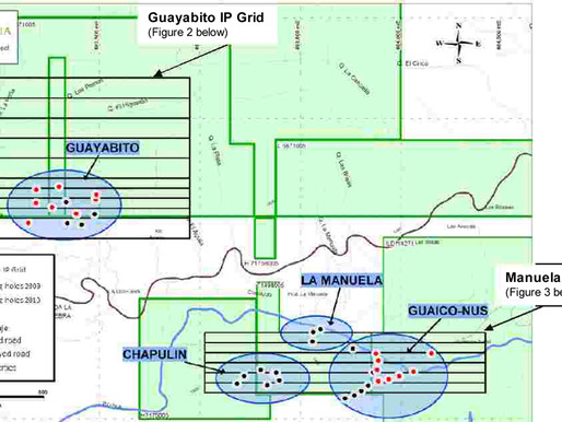 ANTIOQUIA Defines 20+ New Drill Targets from IP Ground Geophysical Program at the Cisneros Project