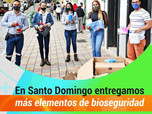 Antioquia Gold comprometido con la bioseguridad de sus comunidades