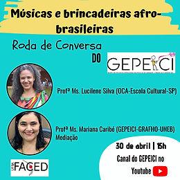 Músicas e brincadeiras afro-brasileiras
