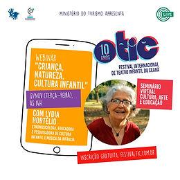 Criança, Natureza, Cultura Infantil no Festival Internacional de Teatro do Ceará