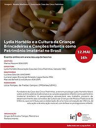 Cultura Infantil como Patrimônio Imaterial no Brasil.