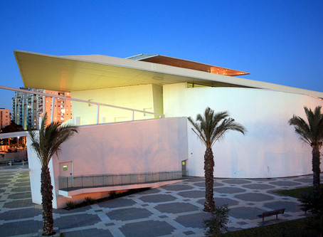 Das Yaakov-Agam Kunstmuseum in Rishon LeZion