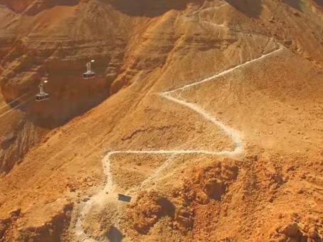 Masada - das heldenhafte Monument über dem Toten Meer
