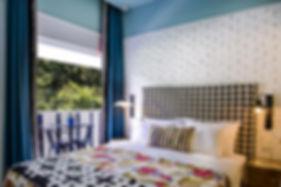 54 modische Zimmer wurden entworfen, um die Atmosphäre der Stadt perfekt einzufangen und Ihre Erfahrung zu verbessern