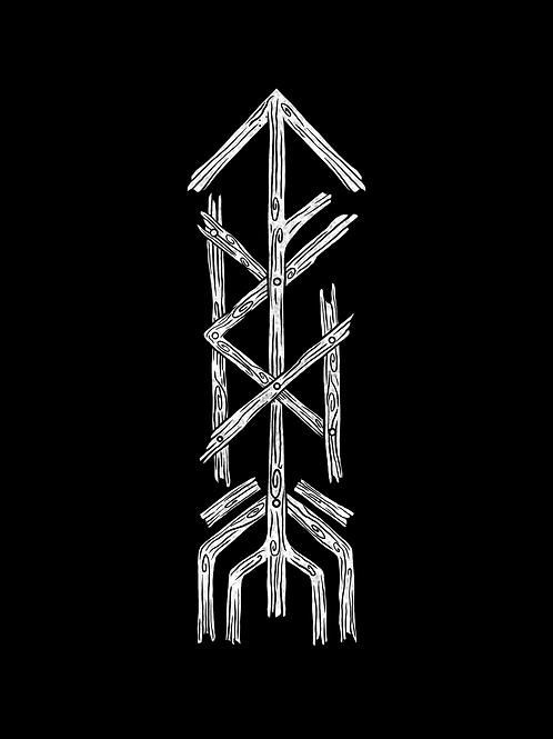 A2 BattleAxe Rune Print