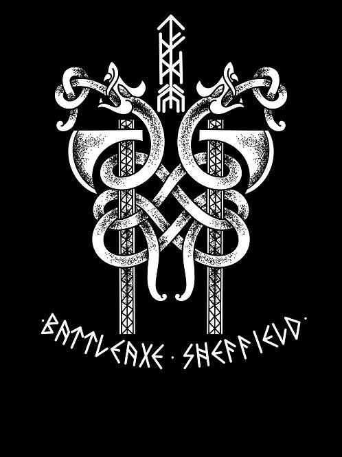 A2 Serpent Axe Print