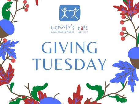 This Giving Tuesday....