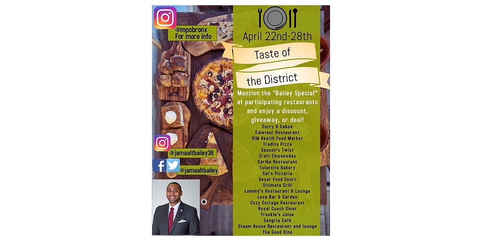 Taste of the District
