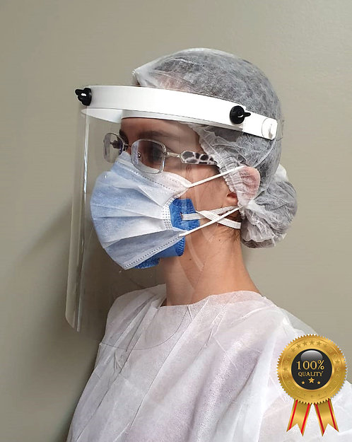 Escudo Facial Fixo - Face Shield