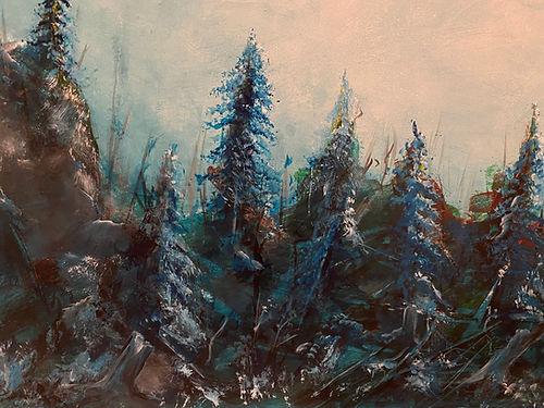 Gebrochener Wald