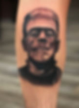 Got to do a Frankenstein's monster portr