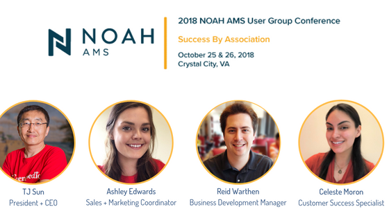 We're sponsoring the 2018 NOAH AMS User Group Conference!