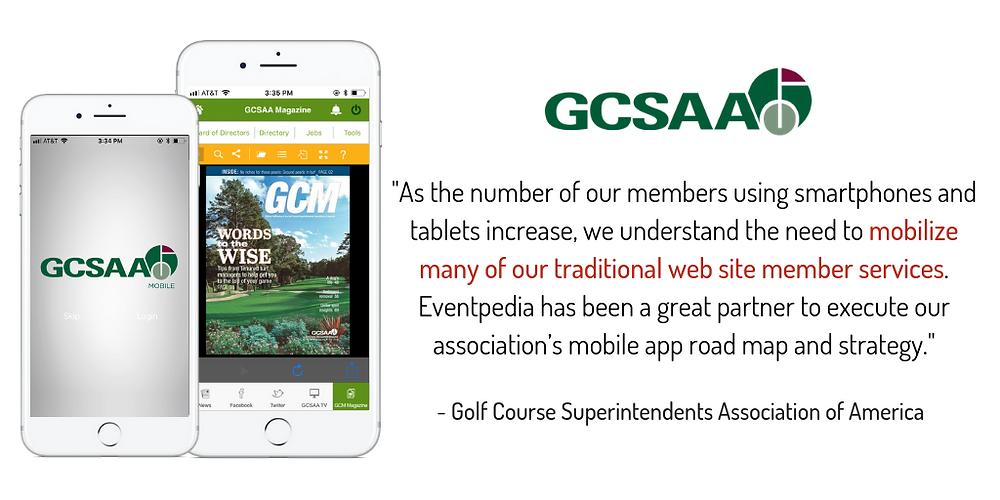GCSAA Eventpedia Testimonial
