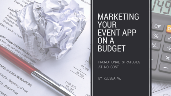 Marketing Event App on Budget