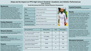 Andrews, J. Sleep and Its Impact on PPS High School Students' Academic and Athletic Performances