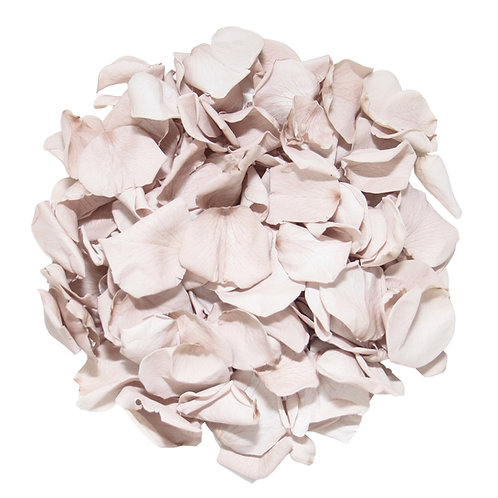 Mink Preserved Rose Petals for Wedding Aisle Decor