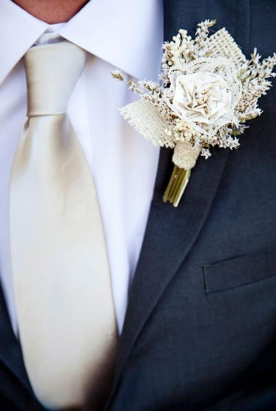 Ivory confetti wedding ideas