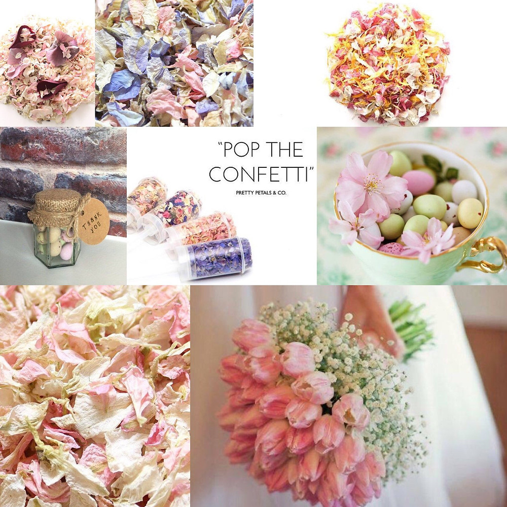 Easter confetti wedding ideas