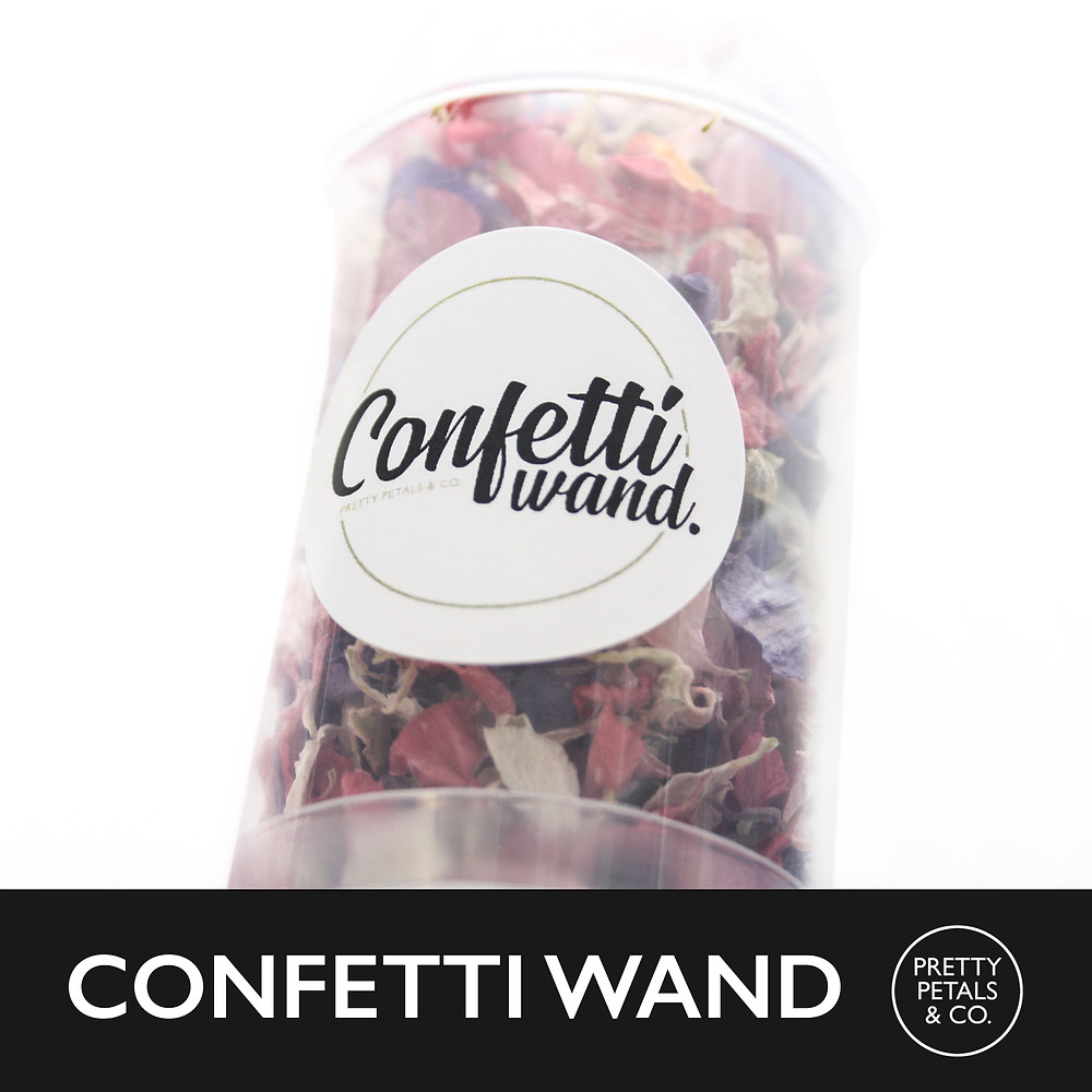 Confetti Wands for Weddings