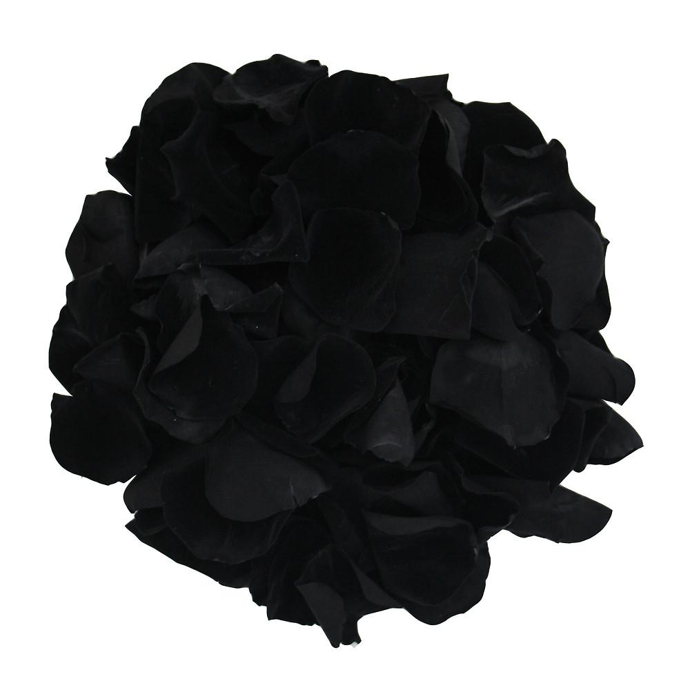 Preserved Black Rose Petals For Weddings