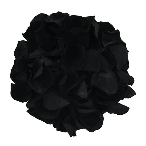 Black Rose Petals that last a year