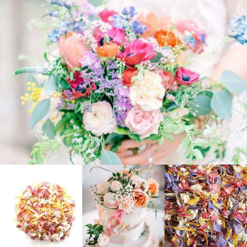 Summer confetti wedding ideas