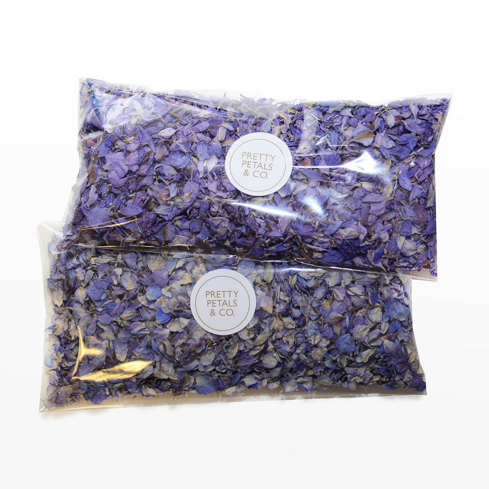 biodegradable wedding confetti wedding confetti purple confetti blue confetti lavender confetti confetti cones delphinium petals wedding confetti biodegradable petals confetti wedding confetti wedding day confetti cannon confetti exit confetti time