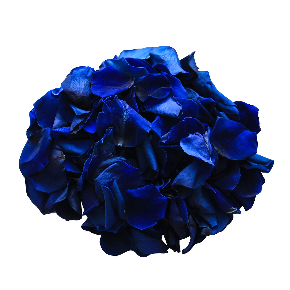 Sapphire Preserved Biodegradable Rose Petals