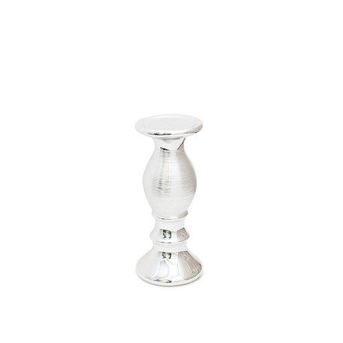 Medium Silver Candlestick