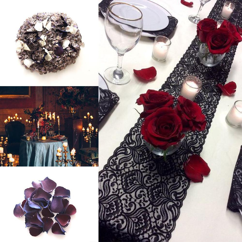 Gothic confetti wedding ideas