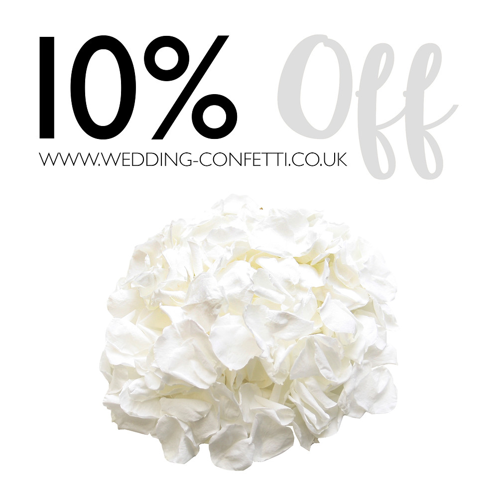 Biodegradable Wedding Confetti Petals