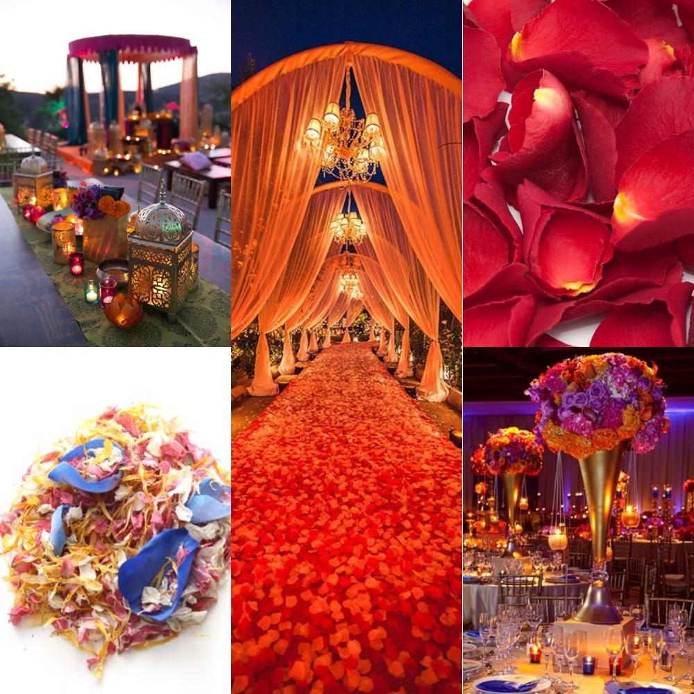 Indian confetti wedding ideas
