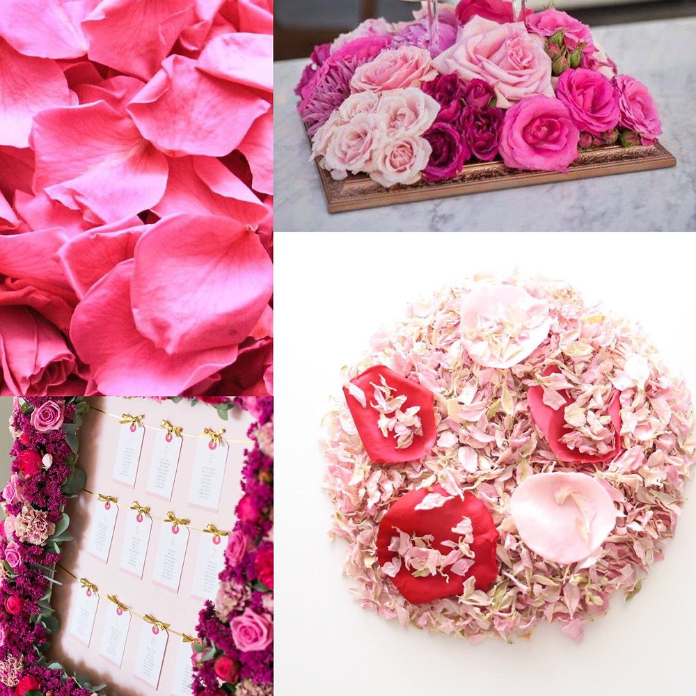 Hot Pink Confetti Wedding ideas