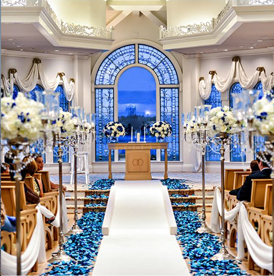 rose petal decor, decor, decor ideas, marine blue roses, marine blue rose petals,  wedding decor ideas, ideas for wedding decor, aisle decor, aisle decoration, aisle decoration