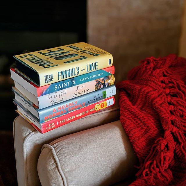 bookster jess stack of books