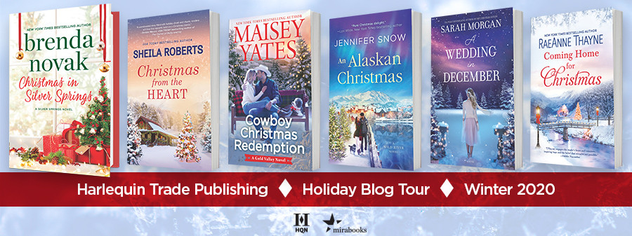 Harlequin Holiday Blog Tour titles Winter 2020