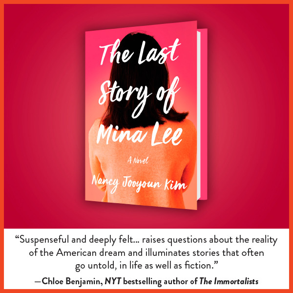 book cover of The Last Story of Mina Lee with review
